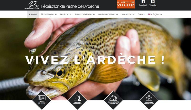 Fédération de Pêche de l'Ardèche