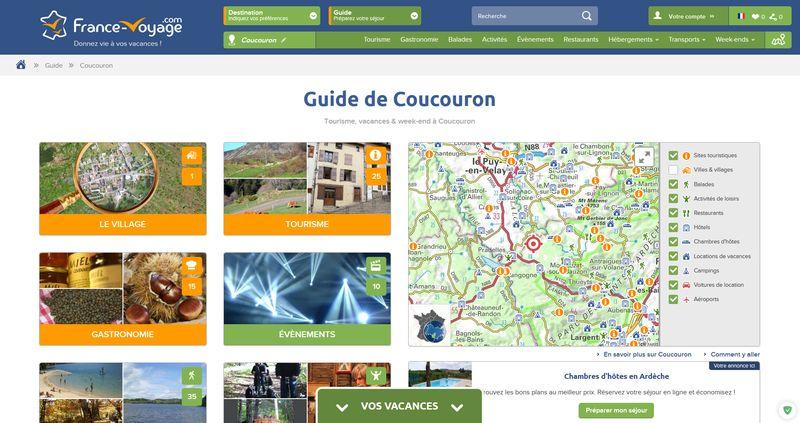 Guide de Coucouron