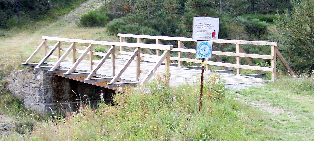 """Parcours """"sans tuer"""", pont du Moulin du Rayol"""